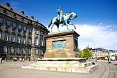 Equestrian statue of King Frederik VII (1808 1863), Copenhagen, Denmark