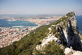 The Summit of the Rock of Gibraltar, Gibraltar, Europe