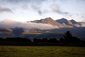 MacGillycuddy's Reeks, Killarney National Park, Iveragh Peninsula, County Kerry, Munster, Republic of Ireland,